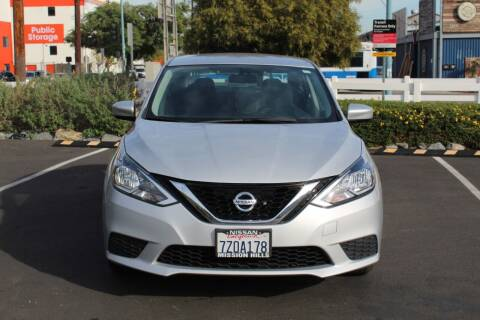 2017 Nissan Sentra for sale at FJ Auto Sales in North Hollywood CA
