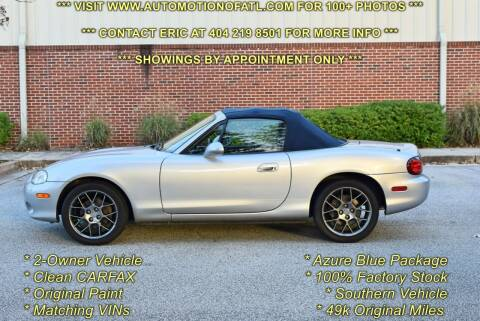 2004 Mazda MX-5 Miata for sale at Automotion Of Atlanta in Conyers GA