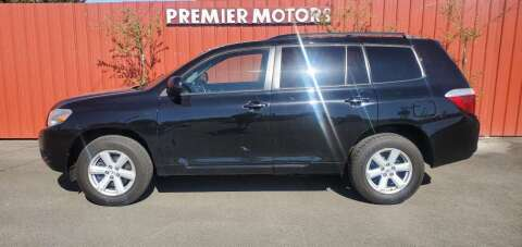 2010 Toyota Highlander for sale at PREMIERMOTORS  INC. in Milton Freewater OR