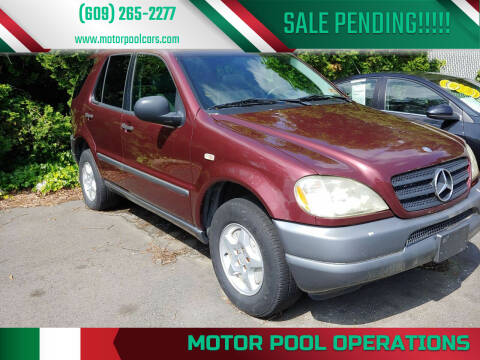1998 Mercedes-Benz M-Class for sale at Motor Pool Operations in Hainesport NJ