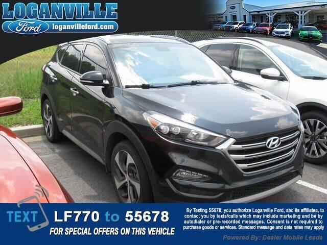 2018 Hyundai Tucson for sale at Loganville Ford in Loganville GA