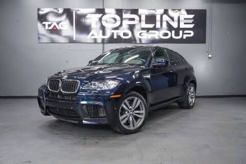 2012 BMW X6 M for sale at TOPLINE AUTO GROUP in Kent WA