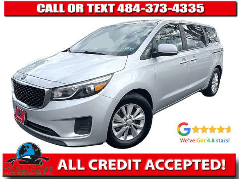 2018 Kia Sedona for sale at World Class Auto Exchange in Lansdowne PA