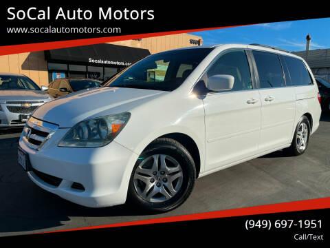 2005 Honda Odyssey for sale at SoCal Auto Motors in Costa Mesa CA