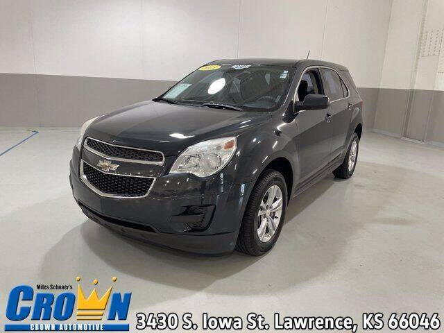 2013 Chevrolet Equinox for sale at Crown Automotive of Lawrence Kansas in Lawrence KS