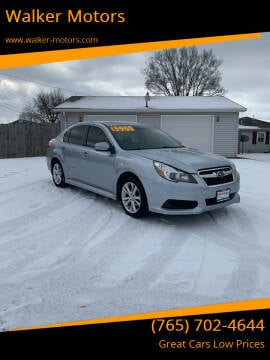 2014 Subaru Legacy for sale at Walker Motors in Muncie IN