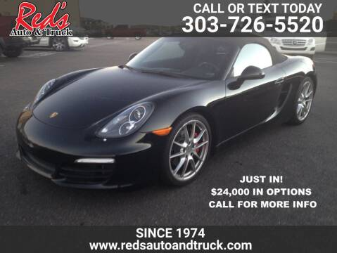2013 Porsche Boxster for sale at Red's Auto and Truck in Longmont CO
