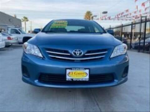 2013 Toyota Corolla for sale at El Guero Auto Sale in Hawthorne CA