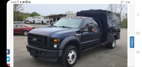 2008 Ford F-450 Super Duty for sale at Kachar's Used Cars Inc in Monroe MI