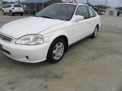 1999 Honda Civic for sale at VANN'S AUTO MART in Jesup GA
