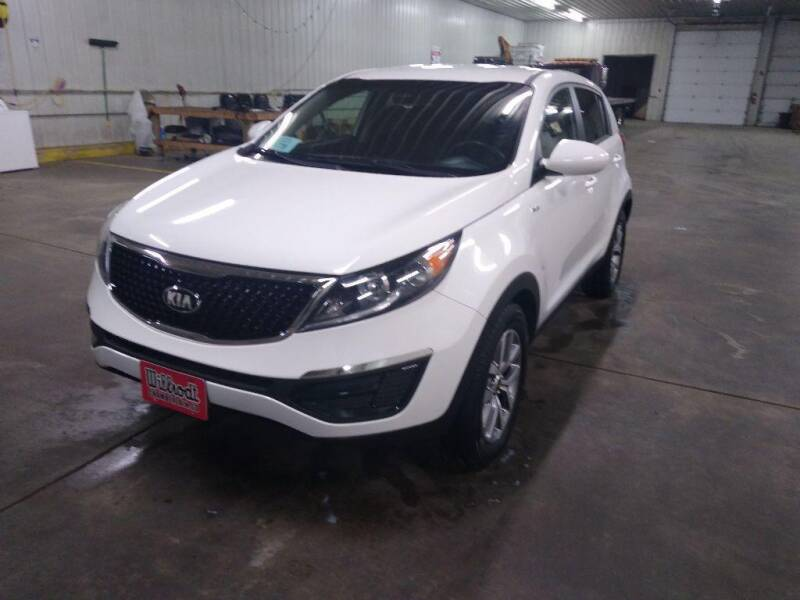 2016 Kia Sportage for sale at Willrodt Ford Inc. in Chamberlain SD