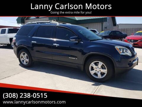 2008 GMC Acadia for sale at Lanny Carlson Motors in Kearney NE