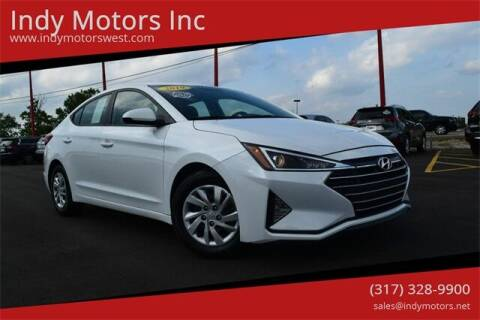 2019 Hyundai Elantra for sale at Indy Motors Inc in Indianapolis IN
