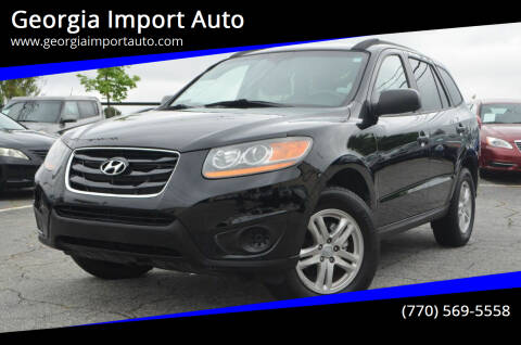 2010 Hyundai Santa Fe for sale at Georgia Import Auto in Alpharetta GA
