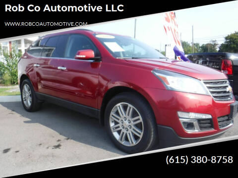 2014 Chevrolet Traverse for sale at Rob Co Automotive LLC in Springfield TN