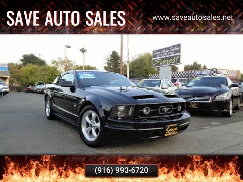 2007 Ford Mustang for sale at Save Auto Sales in Sacramento CA
