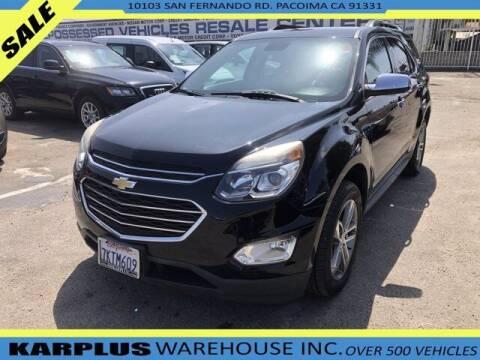 2016 Chevrolet Equinox for sale at Karplus Warehouse in Pacoima CA