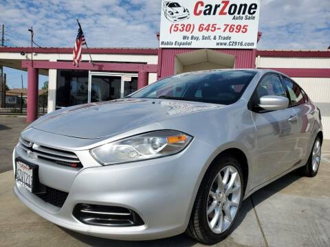 2013 Dodge Dart for sale at CarZone in Marysville CA