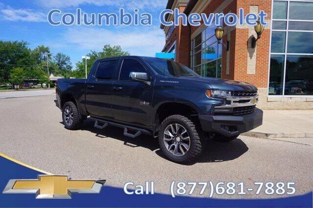 2020 Chevrolet Silverado 1500 for sale at COLUMBIA CHEVROLET in Cincinnati OH