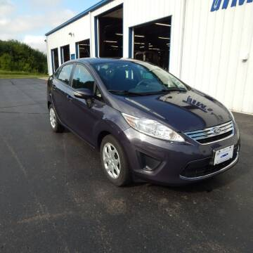 2013 Ford Fiesta for sale at TIM'S ALIGNMENT & AUTO SVC in Fond Du Lac WI