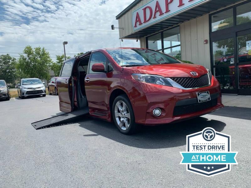 2013 Toyota Sienna for sale at Adaptive Mobility Wheelchair Vans in Seekonk MA