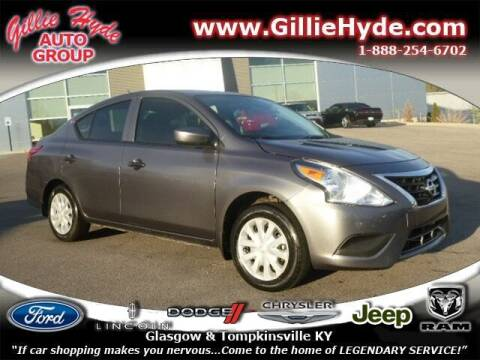 2017 Nissan Versa for sale at Gillie Hyde Auto Group in Glasgow KY