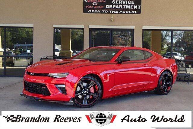 2016 Chevrolet Camaro for sale at Brandon Reeves Auto World in Monroe NC