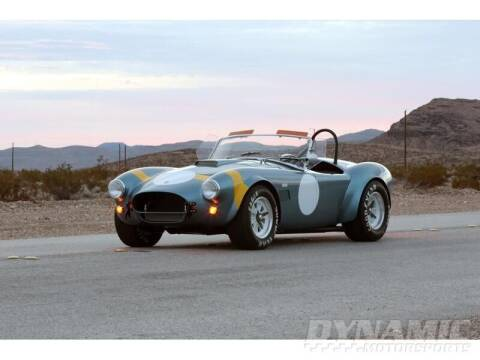 1964 Shelby CSX 7000 for sale at SW Dynamic Motorsports in Garland TX