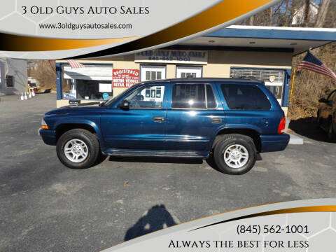 2002 Dodge Durango for sale at 3 Old Guys Auto Sales in Newburgh NY