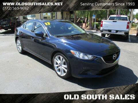 2017 Mazda MAZDA6 for sale at OLD SOUTH SALES in Vero Beach FL