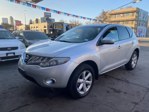 2010 Nissan Murano for sale at Capitol Hill Auto Sales LLC in Denver CO
