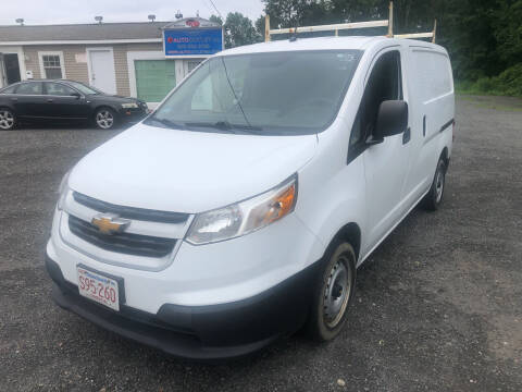 2017 Chevrolet City Express Cargo for sale at AUTO OUTLET in Taunton MA