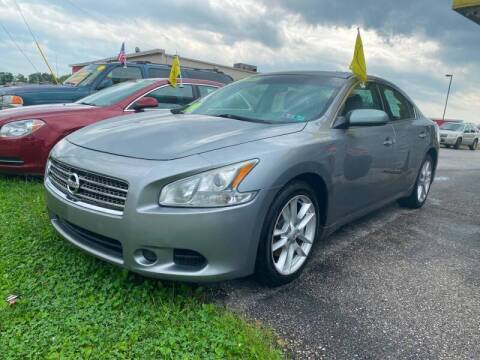 2009 Nissan Maxima for sale at McNamara Auto Sales - Kenneth Road Lot in York PA