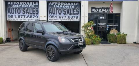 2002 Honda CR-V for sale at Affordable Imports Auto Sales in Murrieta CA