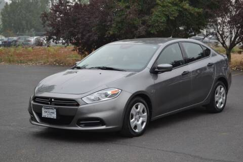 2013 Dodge Dart for sale at Skyline Motors Auto Sales in Tacoma WA