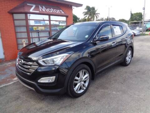 2013 Hyundai Santa Fe Sport for sale at Z MOTORS INC in Hollywood FL