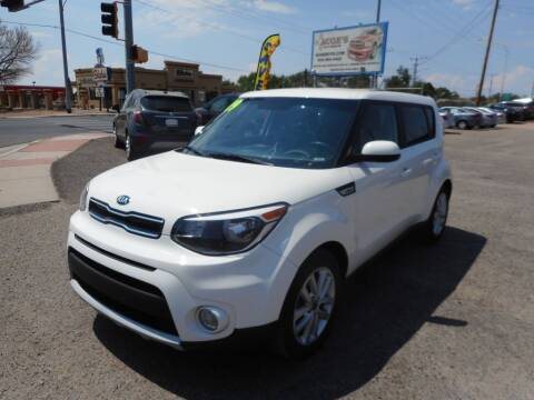 2019 Kia Soul for sale at AUGE'S SALES AND SERVICE in Belen NM