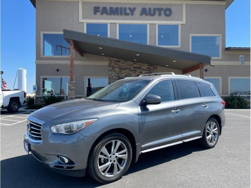 2015 Infiniti QX60 for sale at Moses Lake Family Auto Center in Moses Lake WA