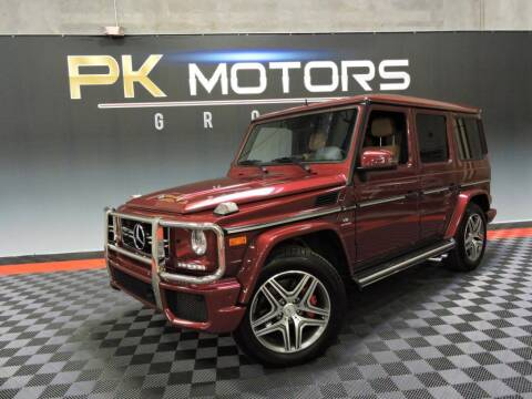 2015 Mercedes-Benz G-Class for sale at PK MOTORS GROUP in Las Vegas NV