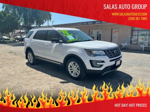2016 Ford Explorer for sale at Salas Auto Group in Indio CA