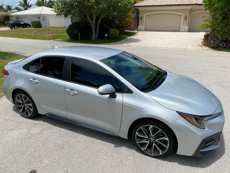 2020 Toyota Corolla for sale at Exceed Auto Brokers in Lighthouse Point FL