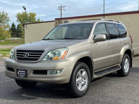 2004 Lexus GX 470 for sale at North Imports LLC in Burnsville MN