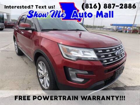 2017 Ford Explorer for sale at Show Me Auto Mall in Harrisonville MO