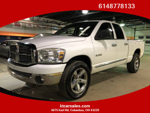 2008 Dodge Ram Pickup 1500 for sale at K & T CAR SALES INC in Columbus OH