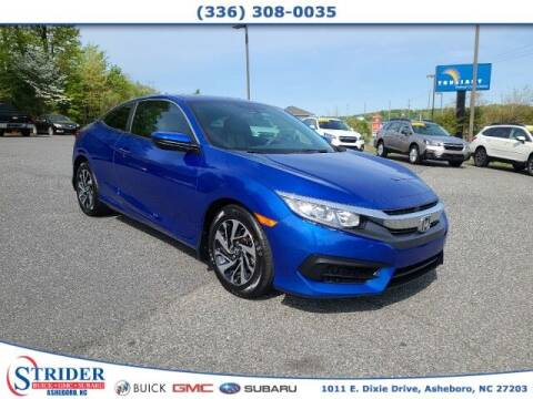 2018 Honda Civic for sale at STRIDER BUICK GMC SUBARU in Asheboro NC