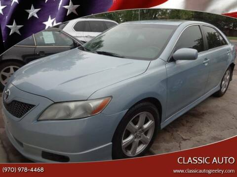 2007 Toyota Camry for sale at Classic Auto in Greeley CO
