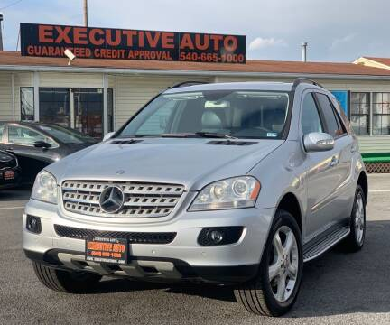 2008 Mercedes-Benz M-Class for sale at Executive Auto in Winchester VA