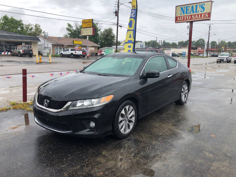 2013 Honda Accord for sale at Neals Auto Sales in Louisville KY
