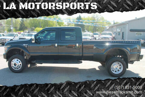 2010 Ford F-450 Super Duty for sale at LA MOTORSPORTS in Windom MN