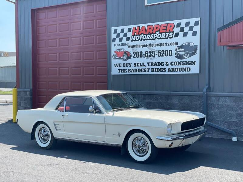 1966 Ford Mustang for sale at Harper Motorsports-Vehicles in Post Falls ID